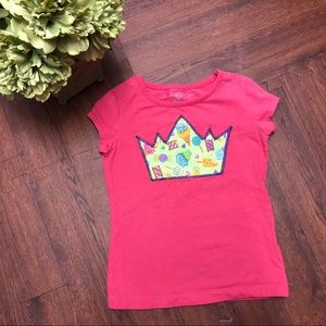 ✨5/$25 Custom Girls Birthday Shirt Crown Size XS